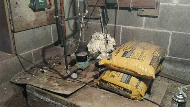 Sump Pump in a Crawl Space in Mount Brydges ON