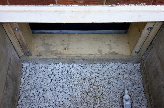 Improving a Crawl Space Access in Kent County, ON