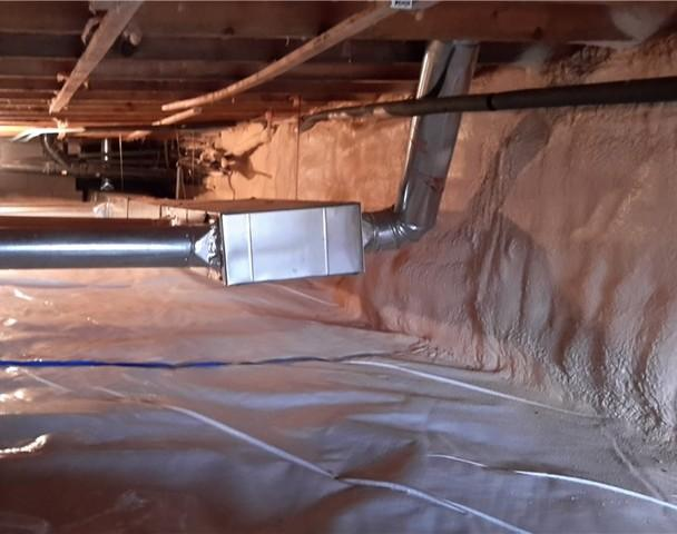Fix for a Wet Crawl Space in Southwold, ON