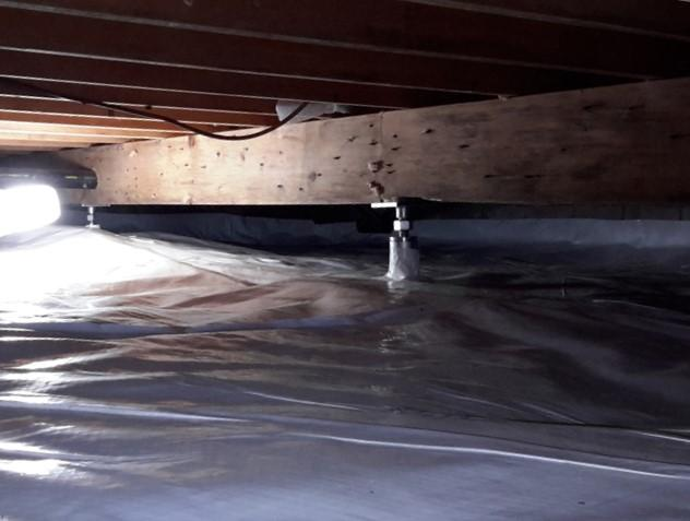An Incredible Crawl Space Transformation in Bayfield, ON