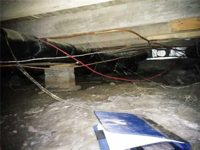 A Crawl Space Fix in Kingsville, ON