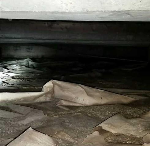 Improving a Wet Crawl Space in Kent County, On