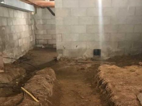Repairing a Crawl Space in Kingsville, ON