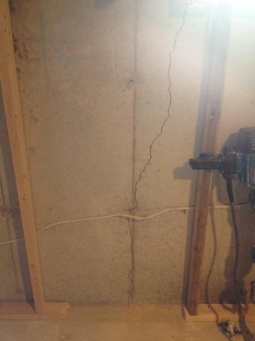 Foundation Crack Repair in London, ONT