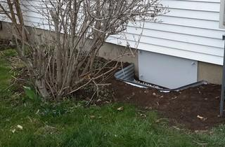 Improved Crawl Space Access, Blenheim ON