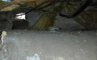 A Challenging Multi-Level Dirt Crawl Space, Oxford County