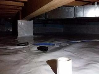 Fixing a Gravel Filled Crawl Space in Essex County, ON
