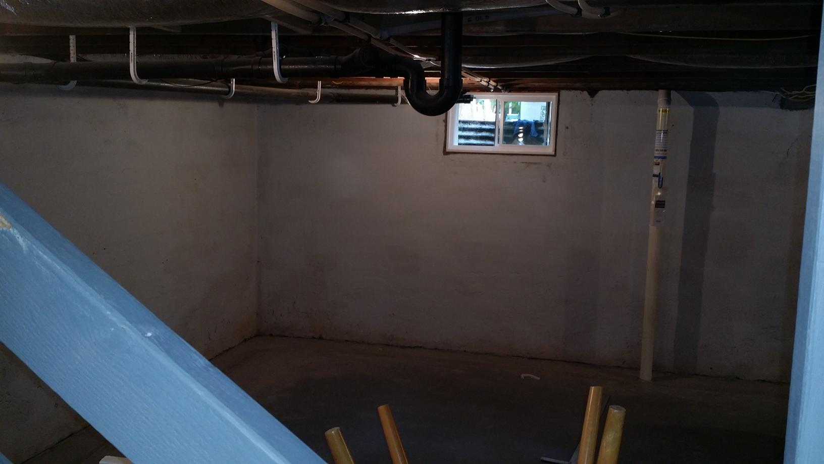 Woodbridge Basement, From Drab to Dreamy - Before Photo