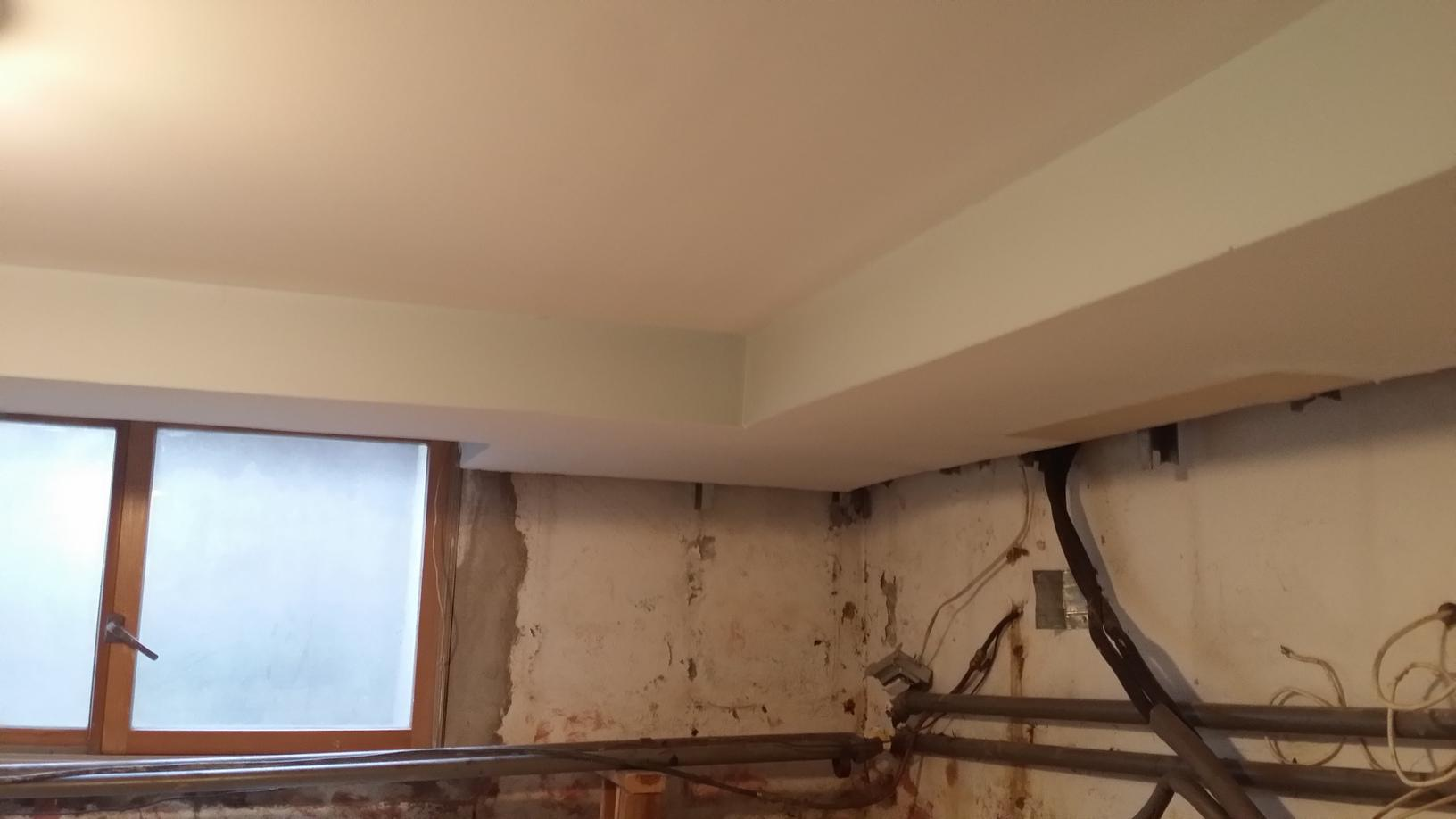 CleanSpace Wall system installed in Scarsdale, NY Basment - Before Photo