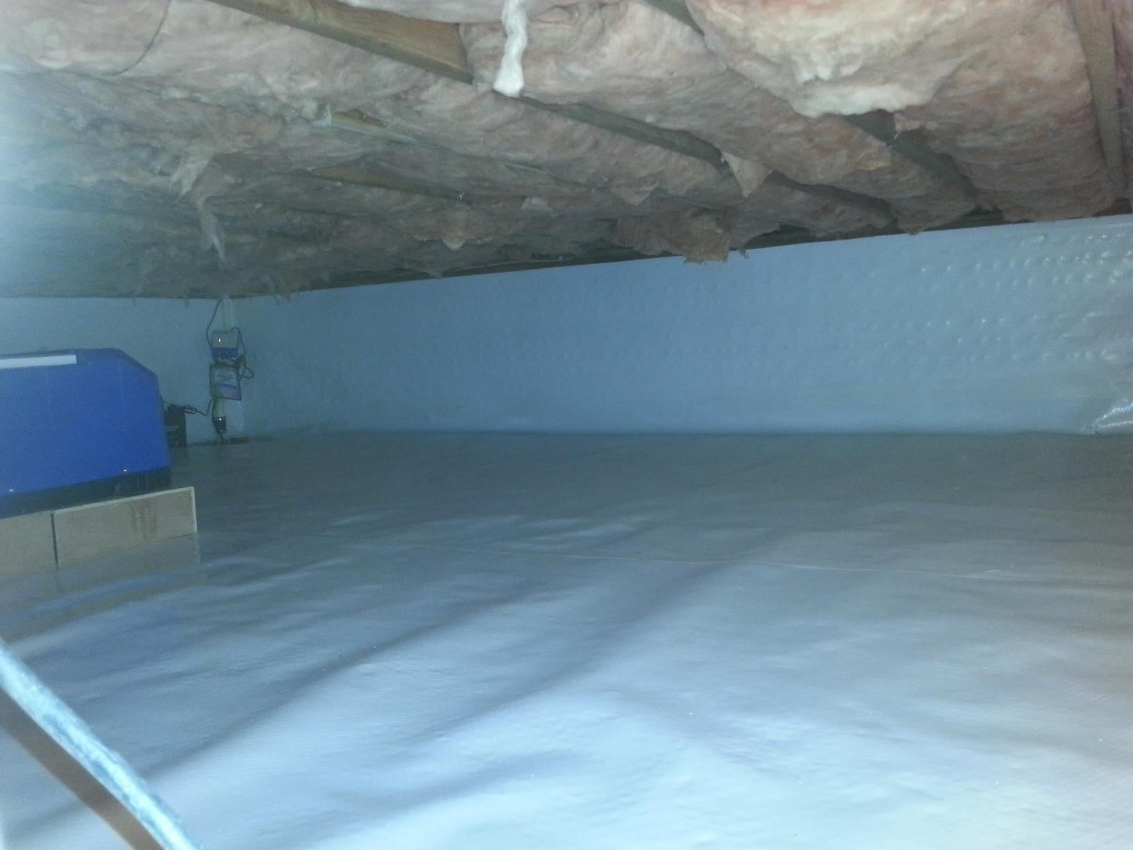 Crawlspace Encapsulation in Bronxville, NY - After Photo