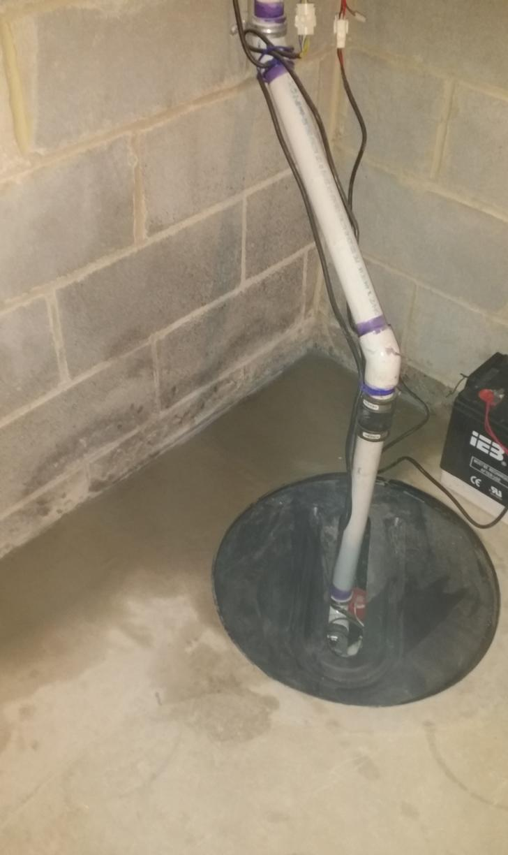 WaterGuard Drainage System in White Plains, NY - After Photo