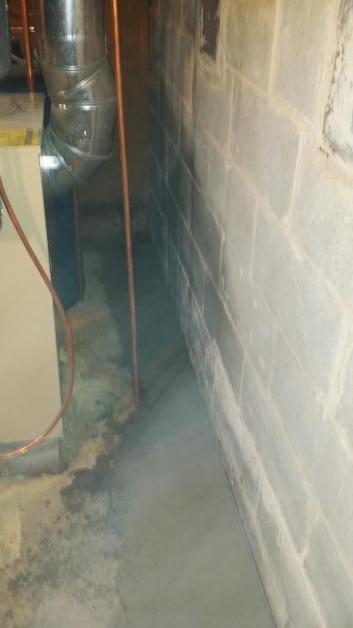 Basement Waterproofing in White Plains, NY - After Photo