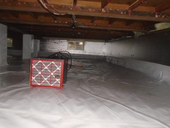 Crawl Space Repair in Mamaroneck, NY - After Photo