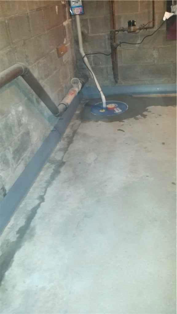 SuperSump and DryTrak - After Photo