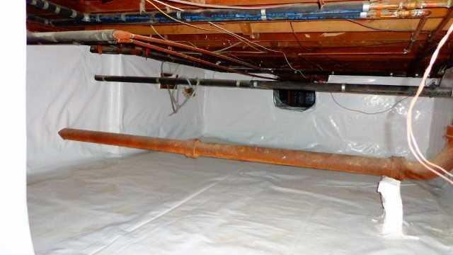 Crawlspace Encapsulation in Larchmont, NY - After Photo