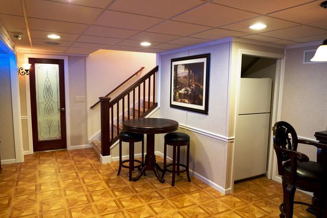 Hawleyville basement transformation!