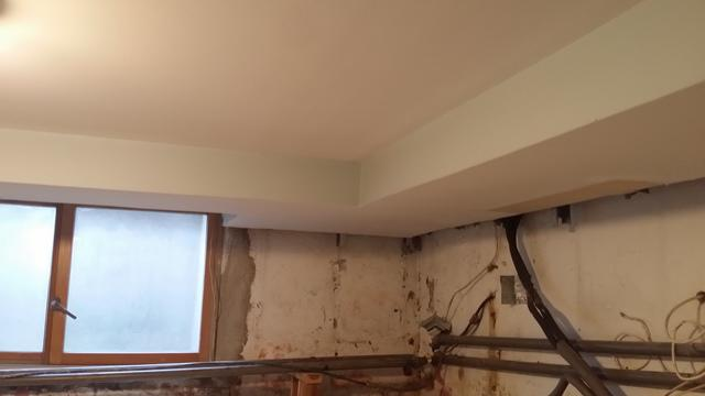 CleanSpace Wall system installed in Scarsdale, NY Basment