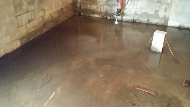 Sump Pump and Cleanspace installation in Bethel, CT