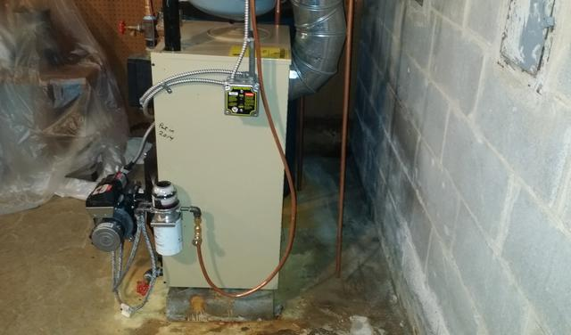 Basement Waterproofing in White Plains, NY - Before Photo