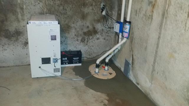 TripleSafe Sump Pump Installed in Wethersfield, CT