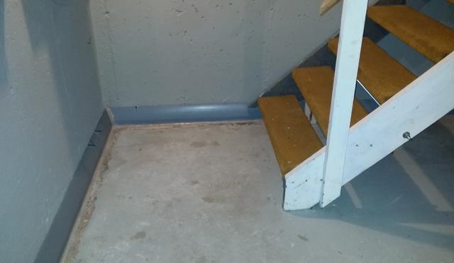 DryTrak Baseboard Drain Pipe in Darien, CT
