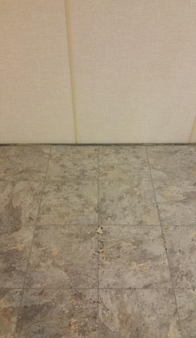 ThermlDry Floor Tiles Installed in Oxford, CT - After Photo