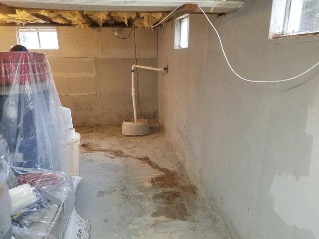 Basement Waterproofing in Pawcatuck CT