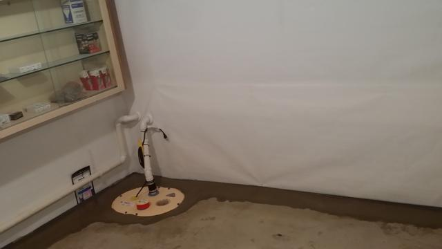 Waterproofing Installation in North Stonington, CT