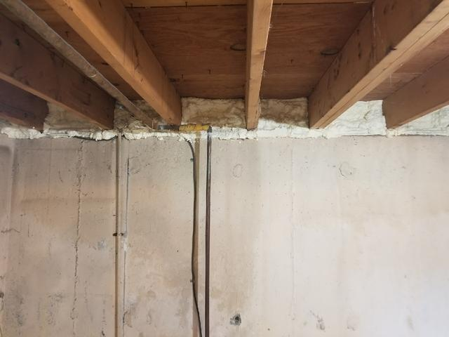 Rim Joist Insulation in Enfield, CT