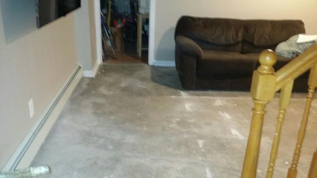 ThermalDry Flooring in Harrison, NY - Before Photo