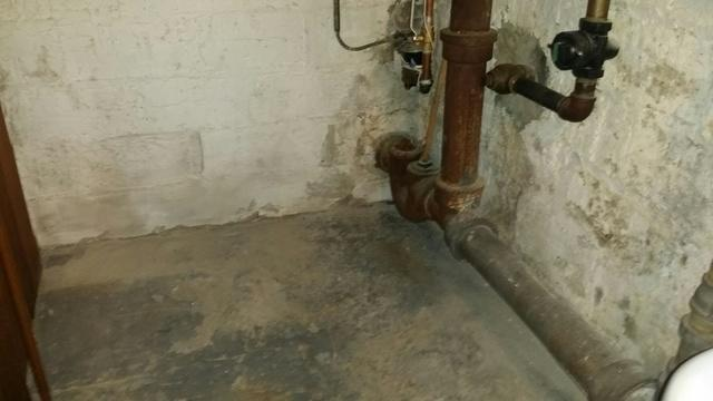 WaterGuard System in Hastings-on-Hudson, NY - Before Photo