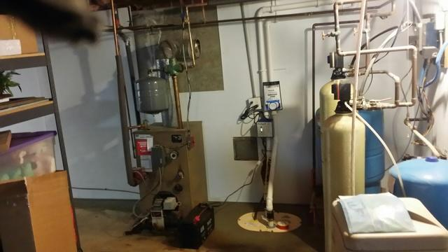 TripleSafe Sump Pump and BrightWall in Prospect, CT