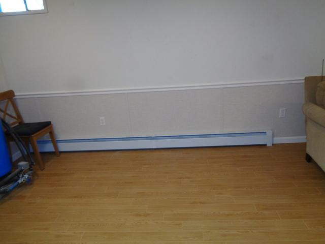 ThermalDry Flooring and EverLast Wall Restoration in Old Saybrook, CT