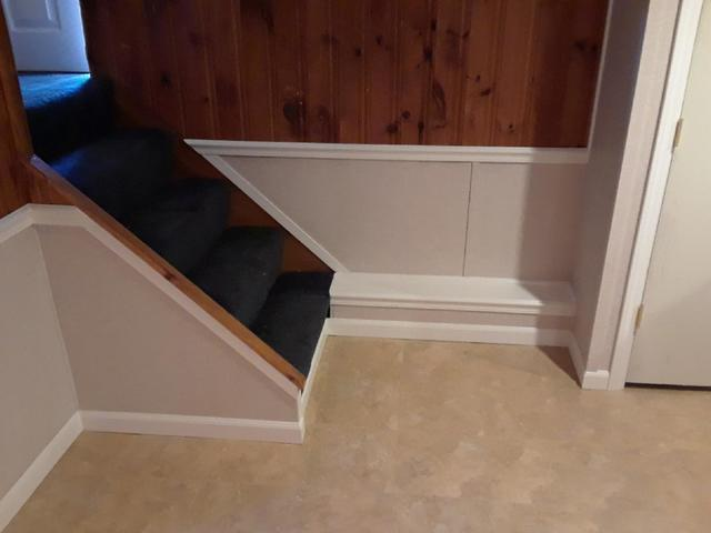EverLast Half Wall Restoration and ThermalDry Flooring in Milford, CT - After Photo