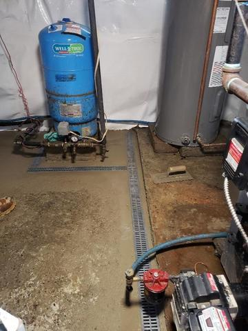 CleanSpace and Trench Drain in Hebron, CT