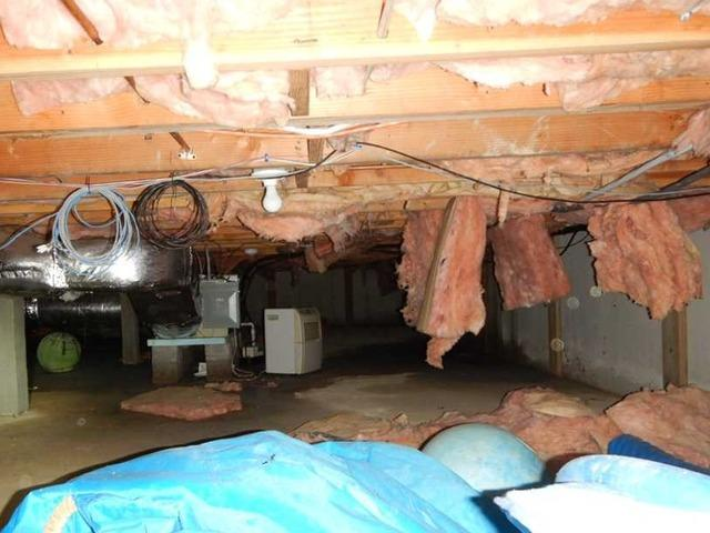 Crawl Space Transformation in New Canaan, CT