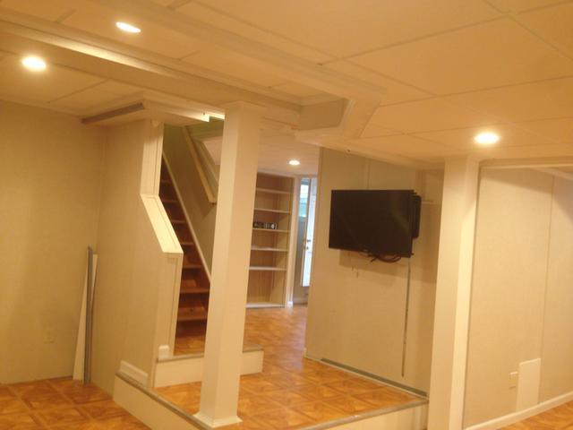 Fully finished space in Chappaqua, NY  - After Photo