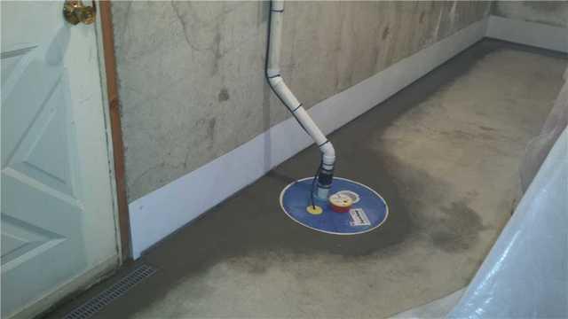 SuperSump Installation in Goshen, CT