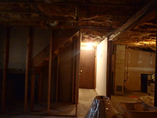 Fully finished space in Chappaqua, NY  - Before Photo