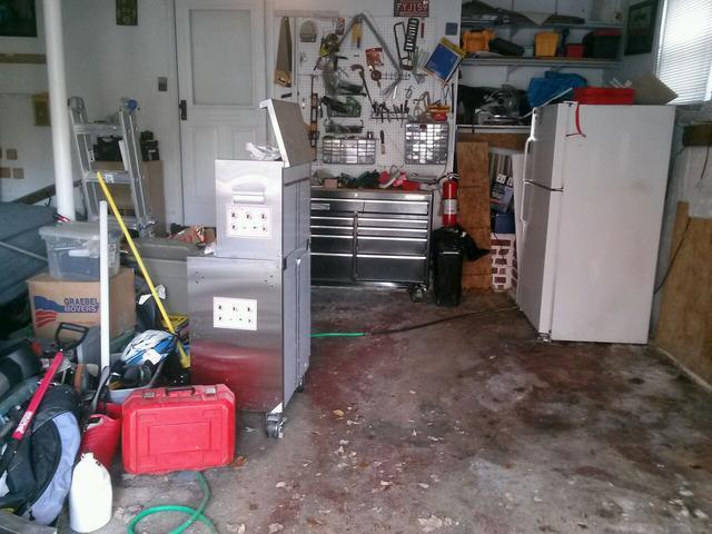 Waterproofed garage in Yorktown Heights, Ny