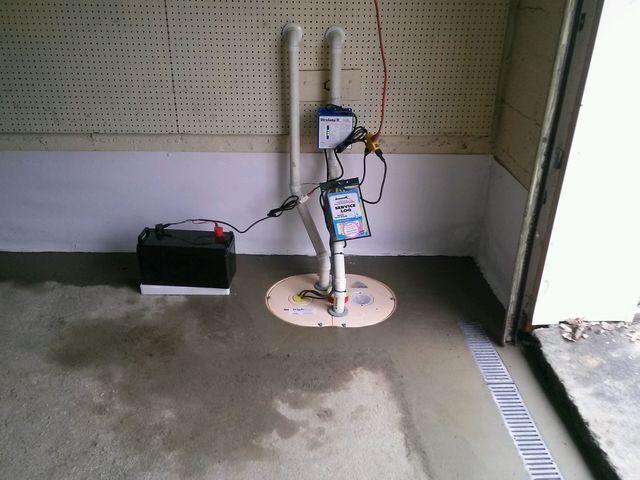Garage Waterproofing Job in Trumbull, CT