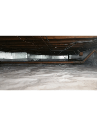 Crawlspace vapor barrier in Norwalk CT