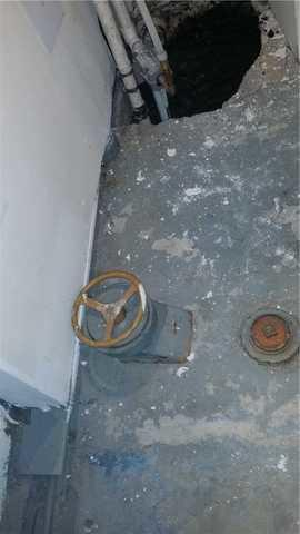 New Sump Pump Installation in Harrison, NY - Before Photo