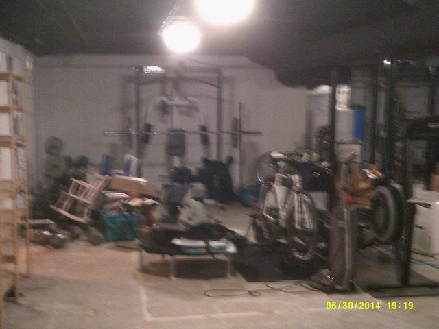 Finished Basement In Home Gym