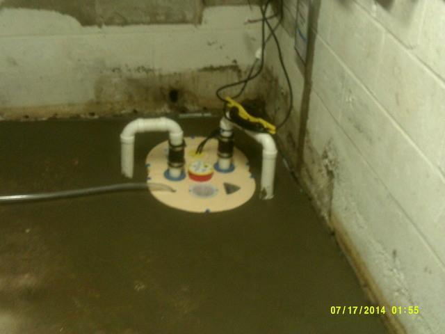 Leaky Basement in Litchfield, CT.