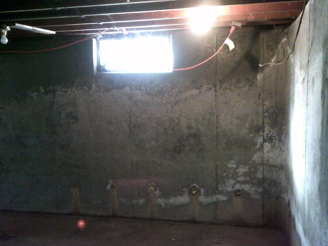 Before and After Photoset from a Basement in Tolland, CT