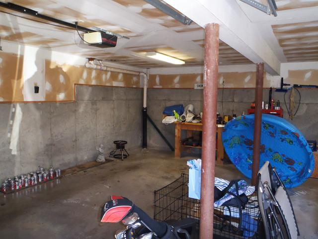 Basement transformation to a comfortable living space!