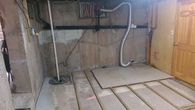 Basement transformation Glastonbury, Ct