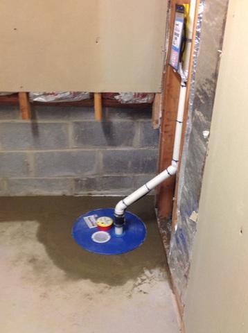 Sump Pump installation in Chappaqua, NY