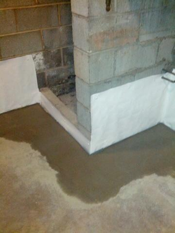 Branford, Ct basement water proofing.